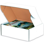Deluxe White Literature Mailers