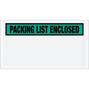 """Packing List Enclosed"" (Panel Face) Envelopes"