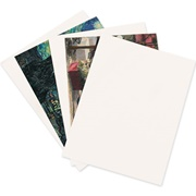 22 Point White Chipboard Pads